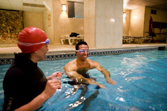 Swimming is the Best Anecdote for Runner's Knees & Joint Problems